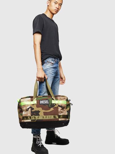 Diesel - SOLIGO, Green Camouflage - Travel Bags - Image 7