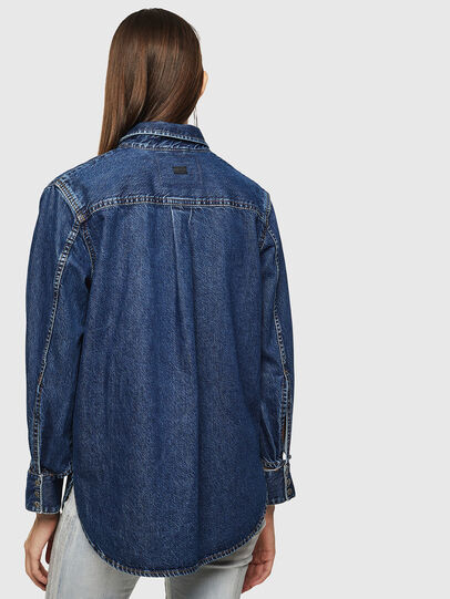 Diesel - DE-COLLY, Medium blue - Denim Shirts - Image 2
