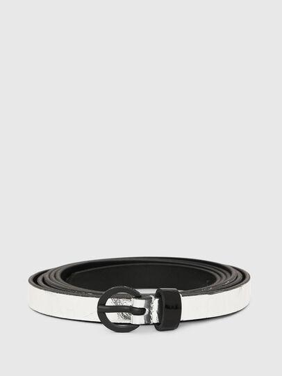 Diesel - B-EVER, Silver - Belts - Image 1