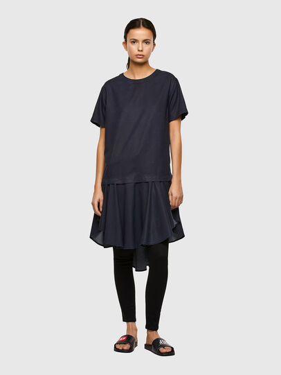 Diesel - DE-JOLLIE, Medium blue - Dresses - Image 1