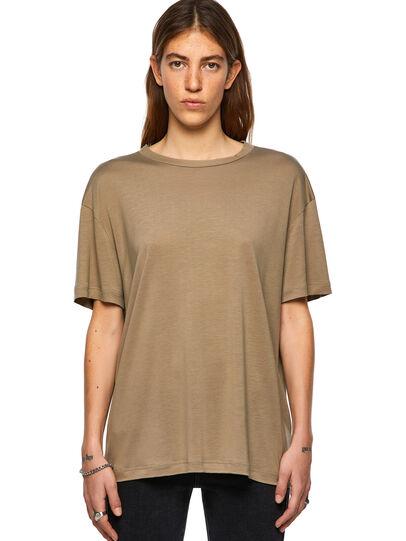 Diesel - T-ENKA-C.C, Light Brown - T-Shirts - Image 1