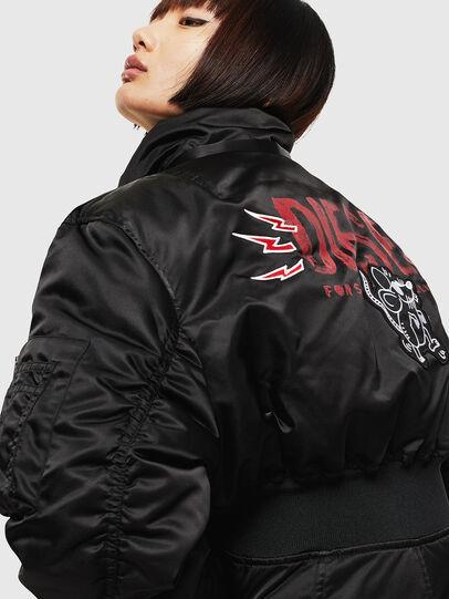 Diesel - CL-W-ISOKE-A-LITM, Black - Winter Jackets - Image 4