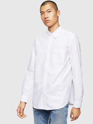 S-MOI-R-B1, White - Shirts