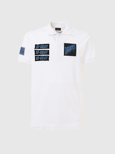 Diesel - T-RALF-PATCH, White - Polos - Image 1