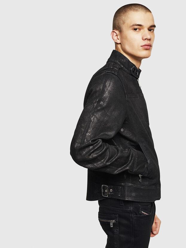 D-JEI-SP JOGGJEANS, Black - Denim Jackets