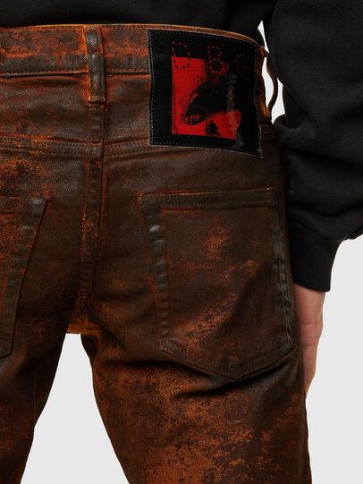 Diesel - TYPE-2021, Black/Orange - Jeans - Image 5