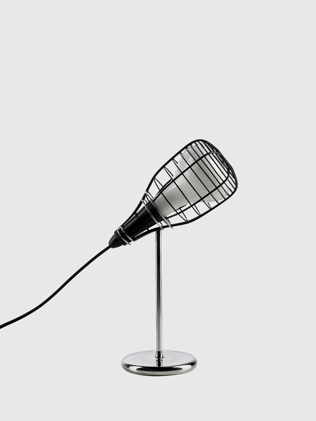 Diesel - CAGE MIC NERO, Black - Table Lighting - Image 1