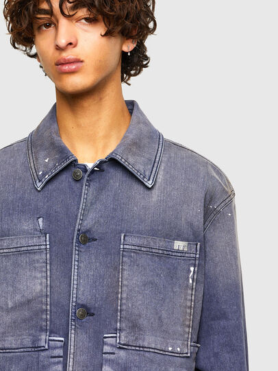 Diesel - D-ANTONY-SP, Medium blue - Denim Jackets - Image 3