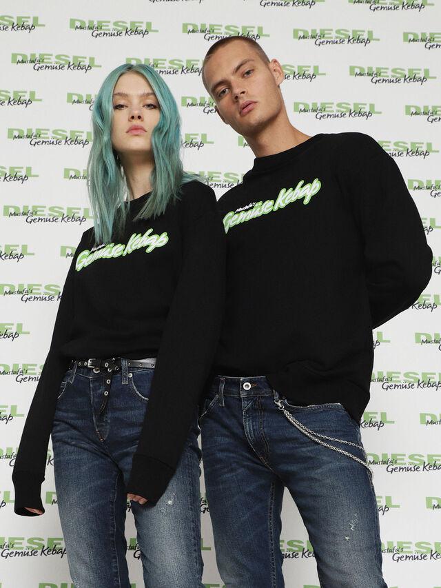 Diesel - MU-FESTA, Black - Sweaters - Image 1