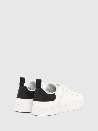 Diesel - S-CLEVER SO W, White/Black - Sneakers - Image 3