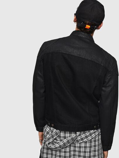 Diesel - D-DANY, Black/Dark grey - Denim Jackets - Image 2