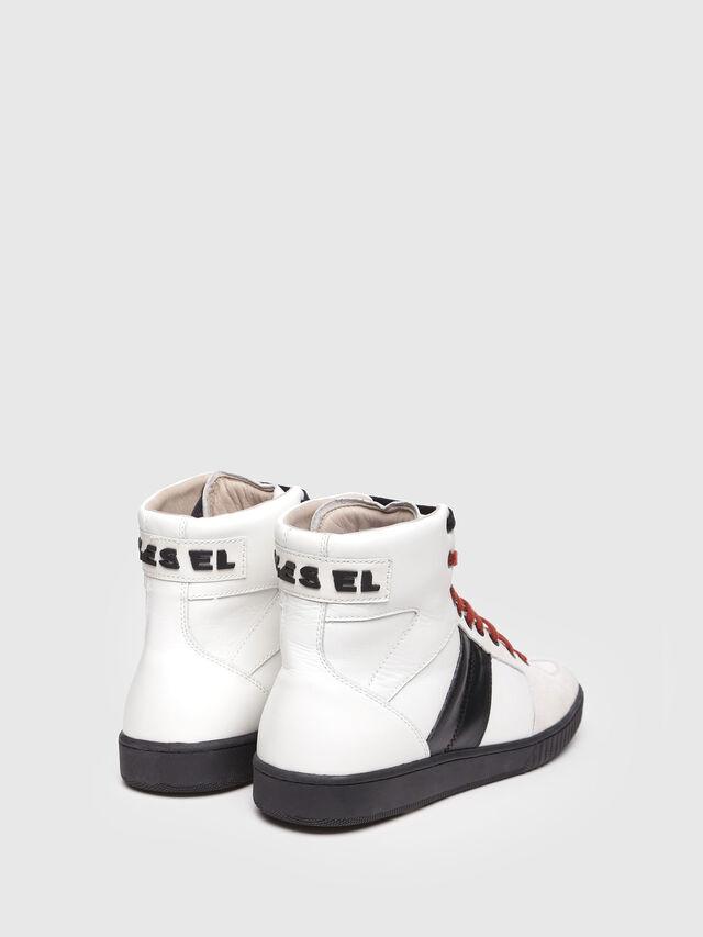 Diesel - S-MILLENIUM MC, White/Black - Sneakers - Image 3