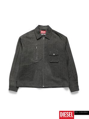 ACW-SH02, Black - Denim Shirts