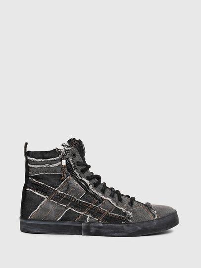 Diesel - D-VELOWS MID LACE, Grey Jeans - Sneakers - Image 1