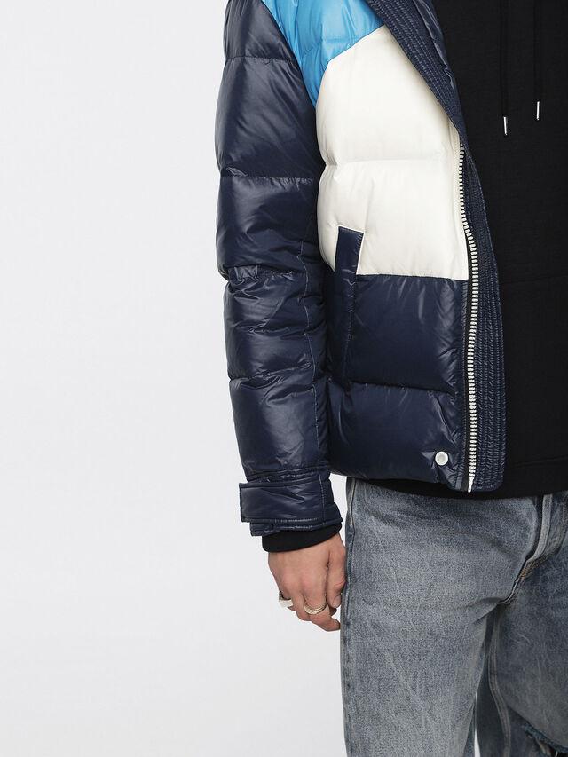 Diesel - W-SMITH, Multicolor/Blue - Winter Jackets - Image 5