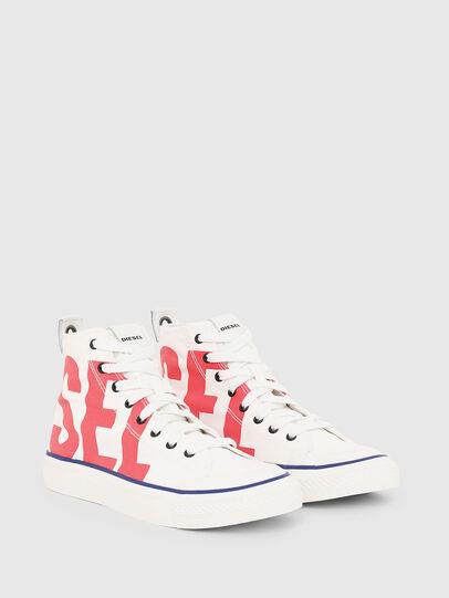 Diesel - S-ASTICO MC W, White/Red - Sneakers - Image 2