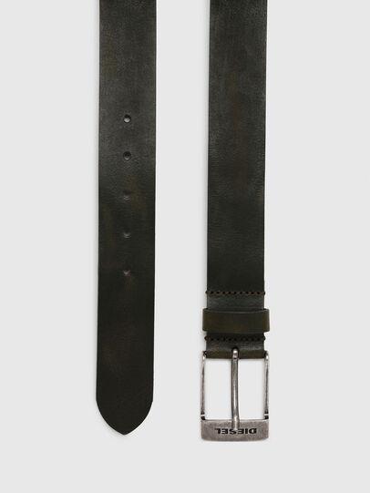 Diesel - B-TOMBOLO, Dark Green - Belts - Image 3