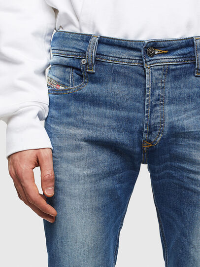 Diesel - Sleenker CN053, Medium blue - Jeans - Image 3