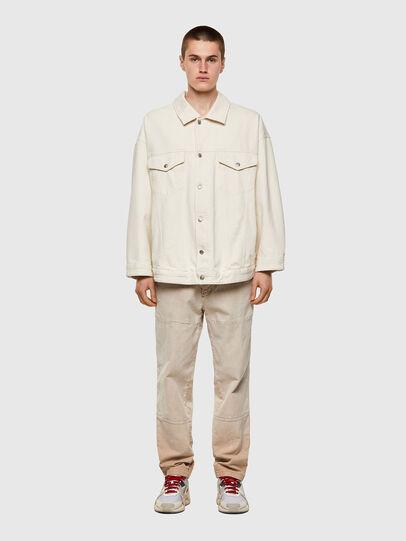 Diesel - DE-SOJO, White - Denim Jackets - Image 5