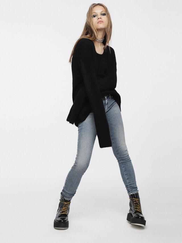Diesel - M-ALPY, Black - Knitwear - Image 4
