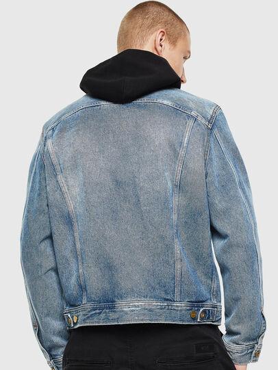 Diesel - D-BRAY, Light Blue - Denim Jackets - Image 2
