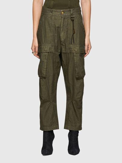 Diesel - P-EMMA, Military Green - Pants - Image 1