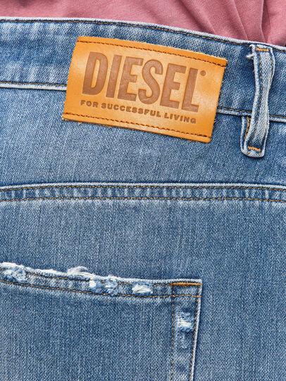 Diesel - D-Reggy 009JX, Light Blue - Jeans - Image 6