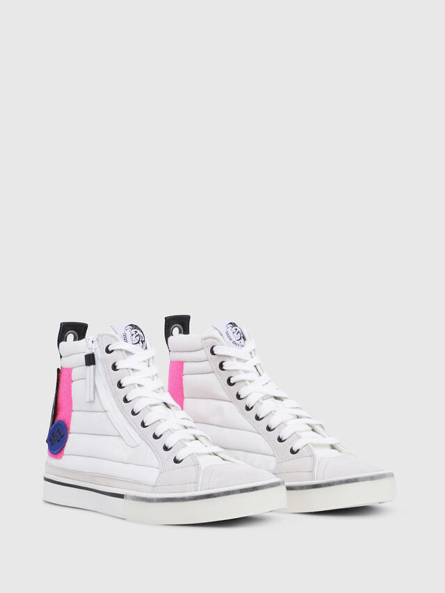 Diesel - D-VELOWS MID PATCH W, White - Sneakers - Image 2