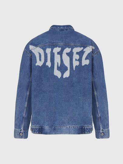 Diesel - D-RAF, Medium blue - Denim Jackets - Image 2