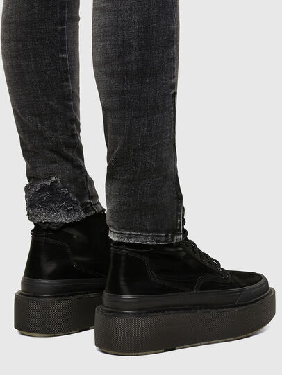 Diesel - D-Jevel 009JN, Black/Dark grey - Jeans - Image 5