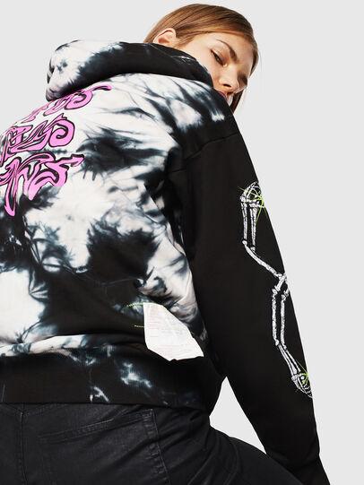 Diesel - S-ALBY-Y, Black/White - Sweaters - Image 4