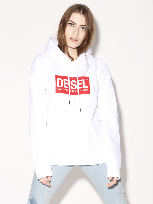 Diesel - DEIS-SHOOD, White - Sweaters - Image 3