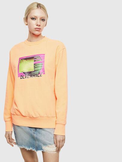 Diesel - S-BIAY-FLUO, Orange - Sweaters - Image 2