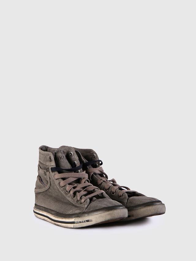 Diesel - EXPOSURE IV W, Grey Jeans - Sneakers - Image 2