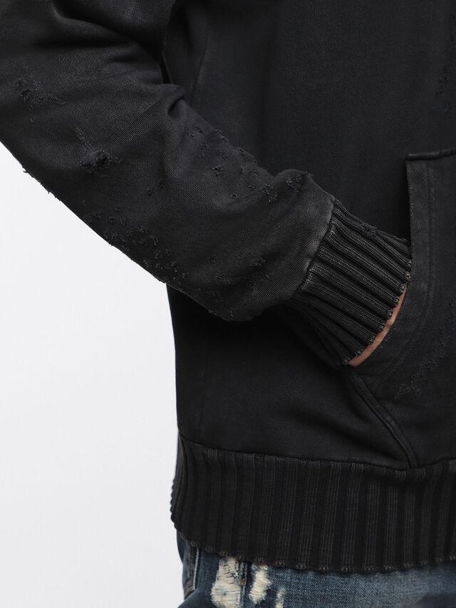 Diesel - S-STAPP, Black - Sweaters - Image 3