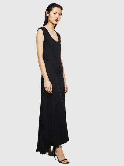 Diesel - D-AQUARZ, Black - Dresses - Image 7