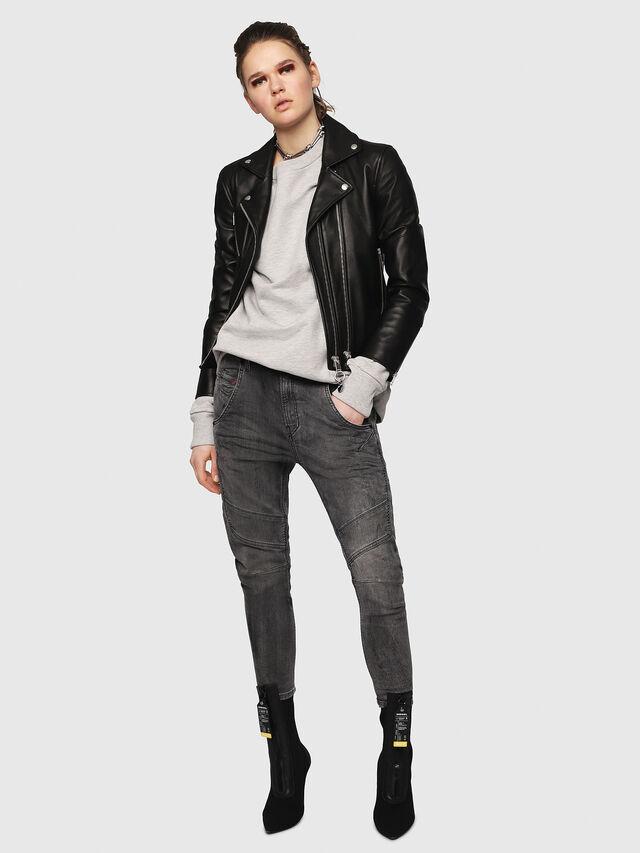 Diesel - Fayza JoggJeans 8880U, Black/Dark grey - Jeans - Image 5