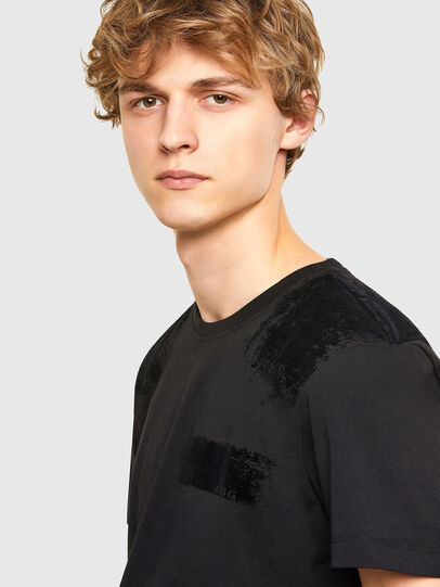 Diesel - T-IEGO-A, Black - T-Shirts - Image 3