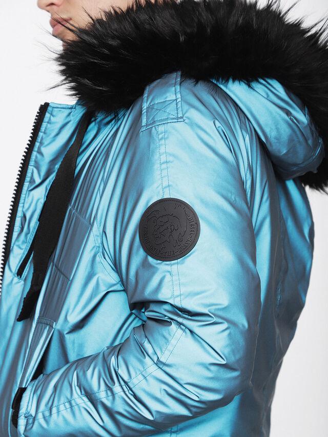 Diesel - W-CODY, Azure - Winter Jackets - Image 5
