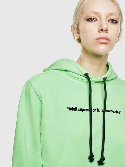 Diesel - S-GIRK-HOOD-FLUO, Green Fluo - Sweaters - Image 6