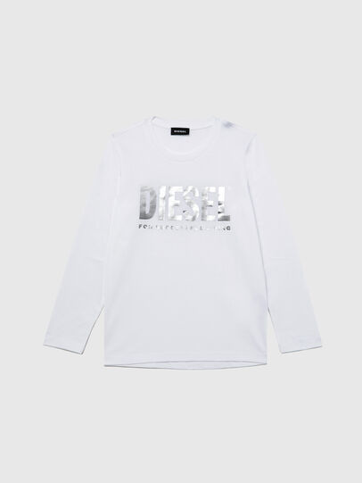 Diesel - TSILYWX ML, White - T-shirts and Tops - Image 1