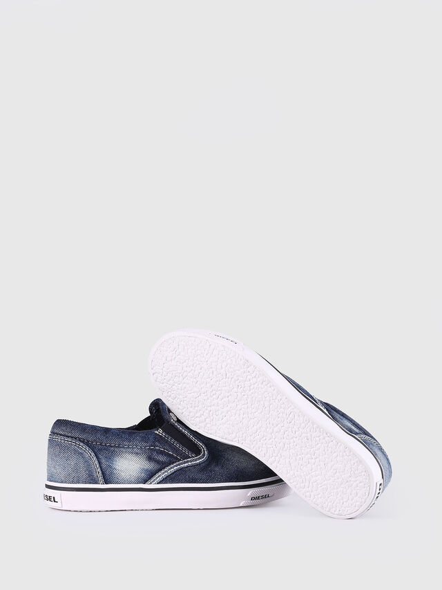 Diesel - SLIP ON 21 DENIM YO, Blue Jeans - Footwear - Image 6