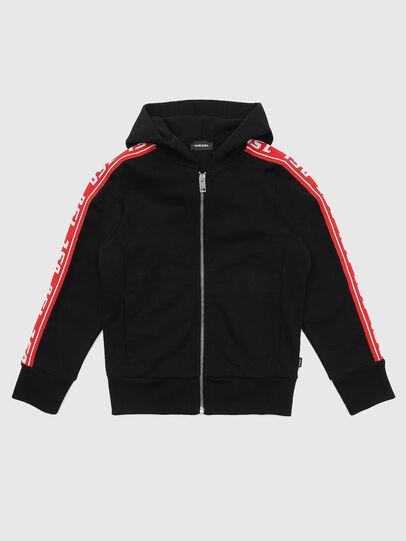 Diesel - SUITAX, Black/Red - Sweaters - Image 1