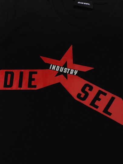 Diesel - TDIEGOA7, Black - T-shirts and Tops - Image 3