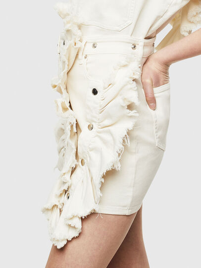 Diesel - D-FRU JOGGJEANS, Cream - Skirts - Image 6