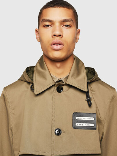 Diesel - J-KODORY, Military Green - Jackets - Image 3