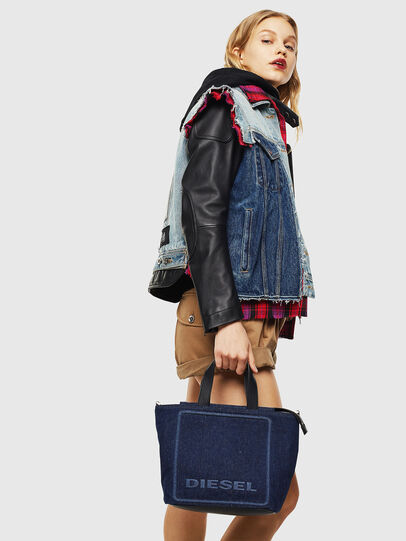 Diesel - PUMPKIE, Dark Blue - Satchels and Handbags - Image 7