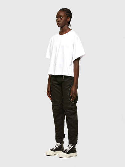 Diesel - T-BOWLESS, White - T-Shirts - Image 6