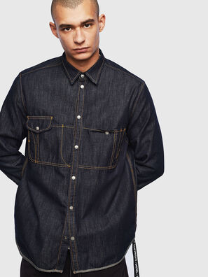 D-MILLY, Dark Blue - Denim Shirts