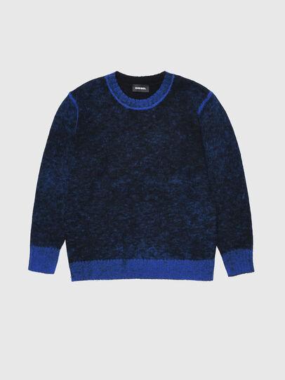 Diesel - KCONF, Black/Blue - Knitwear - Image 1